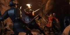 《天国:拯救》1.33版序章战胜所有库曼追兵方法视频