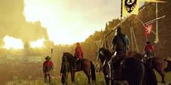 《天国:拯救》利用马匹在出新手村时剿灭追兵方法视频