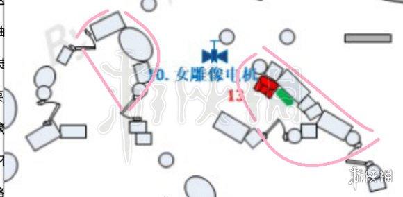 第五人格圣心医院地图 大门地窖出口无敌柜子地下室地图