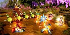《幻想三国志5》部分角色阵型技能效果图文介绍及演示