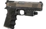 镭射瞄准器手枪