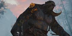 《战神4》怎么越级打怪?高难度模式越2级清怪方法视频