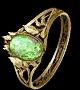 幽暗宝冠戒指