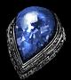 蓝泪石戒指