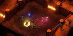 《永恒之柱2:死亡之火》法师单挑蛆虫BOSS打法视频