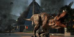 《侏罗纪世界:进化》恐龙大乱斗娱乐演示视频 什么恐龙最厉害?