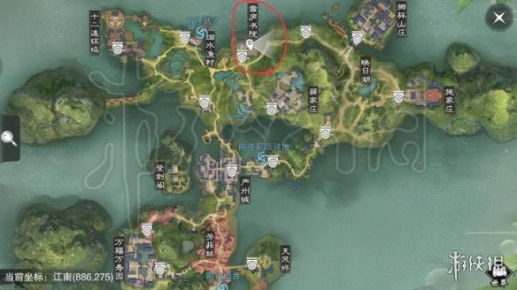 楚留香沧海打坐地点 629坐观万象打坐修炼地点坐标