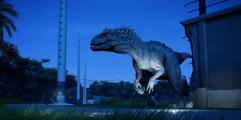 《侏罗纪世界:进化》满级暴虐迅猛龙战斗力测试视频