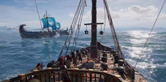 《刺客信条:奥德赛》海战实机演示视频 海战新玩法演示