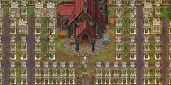 《守墓人》墓地设计方案图示一览 墓地极限布局方案图解