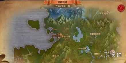 《万王之王3d》迷雾沼泽风景点位置介绍 迷雾沼泽风景点解锁方法