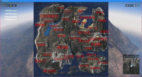 《无限法则》地图多大 地图中英文标注一览
