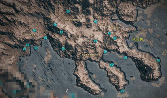 刺客信条奥德赛奥利哈刚介绍 奥利哈刚全获取地图一览