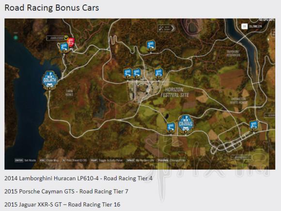 极限竞速地平线4车辆怎么获取 地平线4全地图车辆获取一览3