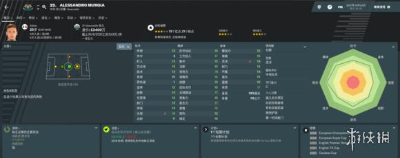足球经理2019妖人大全 FM2019妖人球员属性介绍