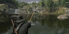 《荒野大镖客2》钓鱼任务攻略视频合集 怎么钓鱼