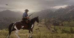 《荒野大镖客2》传奇白野牛及第一个线索位置视频分享