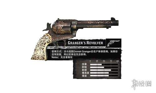 荒野大镖客2全左轮手枪中文图鉴一览 全手枪获取方法一览