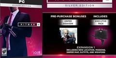 《杀手2》预购奖励介绍 黄金版与普通版有什么区别?