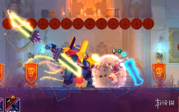 《死亡细胞》国王之手最高难度战术流打法