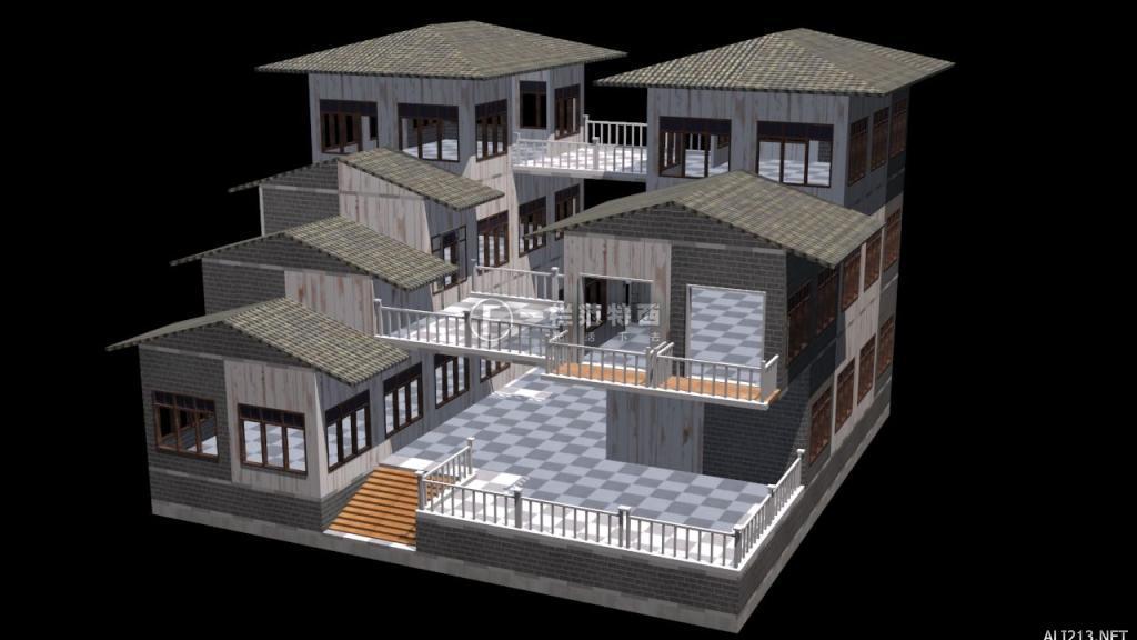 明日之后:双子楼庄园建造 两栋独特的小楼