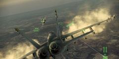 《皇牌空战7未知空域》第九关打法技巧分享 第九关攻略