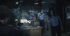 《生化危机2重制版》克莱尔里关快乐模式通关流程视频