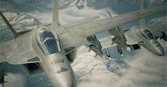 《皇牌空战7未知空域》从太空电梯出口安全离开方法视频
