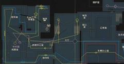 《生化危机2重制版》克莱尔表关警察局路线地图标注及说明