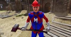 《雷霆一击》steam版试玩视频分享 Mordhau游戏好不好玩?
