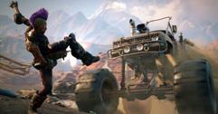 《狂怒2》轰啦恶党坦克及推土机载具驾驶演示视频