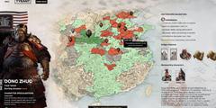 《全面战争三国》董卓势力选择界面解析 董卓势力开局效果一览