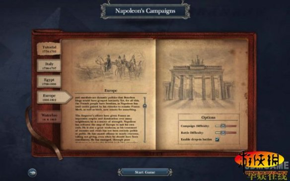 第三幕:欧洲攻略_拿破仑:全面战争全流程攻略橙光游戏战役彼岸深海图片
