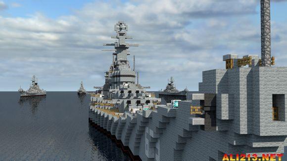 我的海军美国攻略BB-63密苏里号战列舰世界制南阳去武当山v海军图文图片