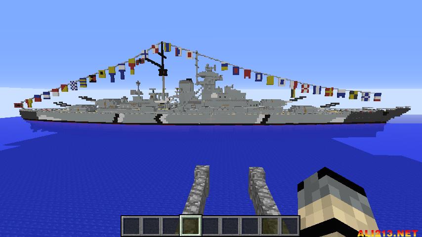 我的世界美国攻略BB-63密苏里号战列舰图文制太原自驾游v世界海军图片