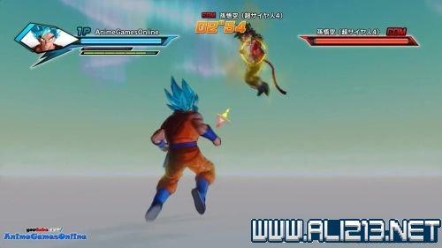 龙珠 超宇宙 蓝发悟空大战超赛4悟空视频攻略
