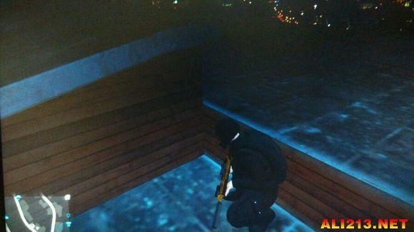 侠盗猎车手5 GTA5 线上模式进入富兰克林别墅方法解析攻略高清图片