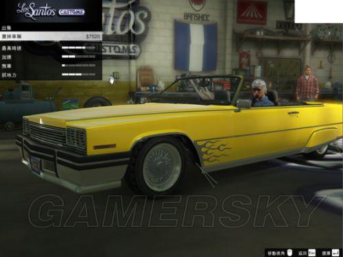 班尼明日之星 侠盗猎车手5 GTA5 PC版改装车及稀有车获得方法 稀图片