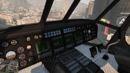 侠盗猎车手的直升飞机图片_侠盗猎车手圣安地列斯怎么抢警察直升机比克