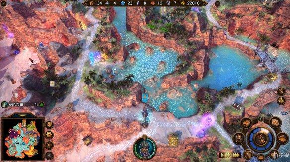 魔法门之英雄无敌7全图文宿命流程攻略[全战役destiny势力游戏攻略图片