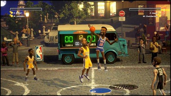 《NBA游乐场》图文评测:Q版球星大乱斗