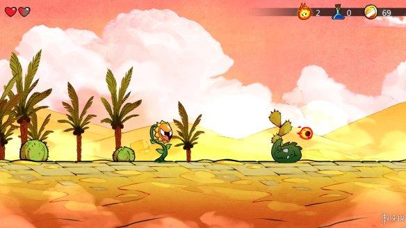 并且对游戏中的人物角色进行逐帧动画设计,让人物动作更加真实,让玩
