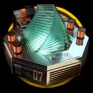 晶体电子单元