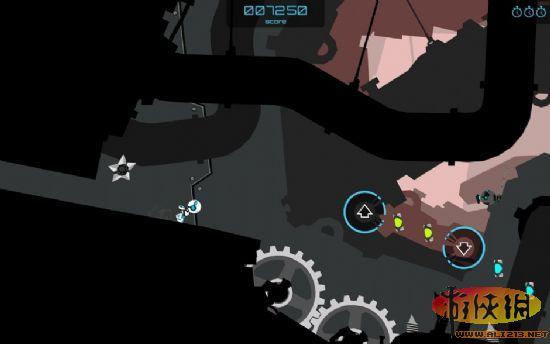 《齿轮杰克 Gear Jack》是一款2D卡通风横版动作游戏,玩家要操纵一个小机器人在充满举行齿轮的蒸汽地下城里收集能源,一路奔跑过关。本作中最大的特色就在于主角小机器人的连贯跳跃,玩家可以用快速反应的按键操作控制它的空中姿态,滞空、翻滚、落地、二段跳跃等帅气动作还会用慢镜头表现出来,味道十足。