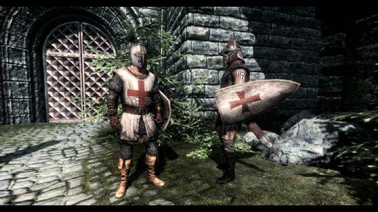 上古卷轴5圣殿骑士团替换帝国军mod