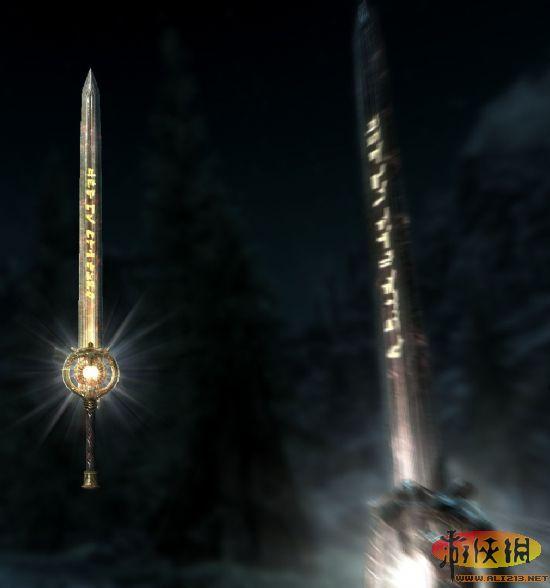 [12.13.11][上古夜莺5发光的卷轴剑MOD][Elder超美洲豹和超美洲豹图片