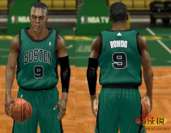 美国职业篮球2K14 凯尔特人队球衣补丁
