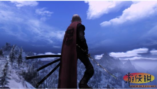 上古卷軸5(The Elder Scrolls V: Skyrim)不動明王三刀流品