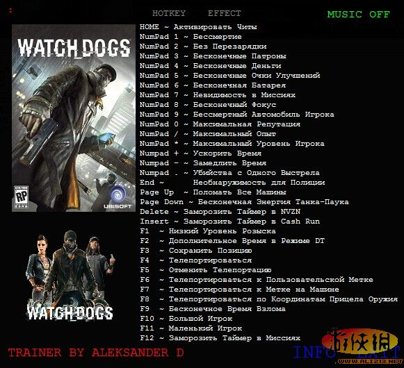 Watch Dogs  Cheat Codes Pc