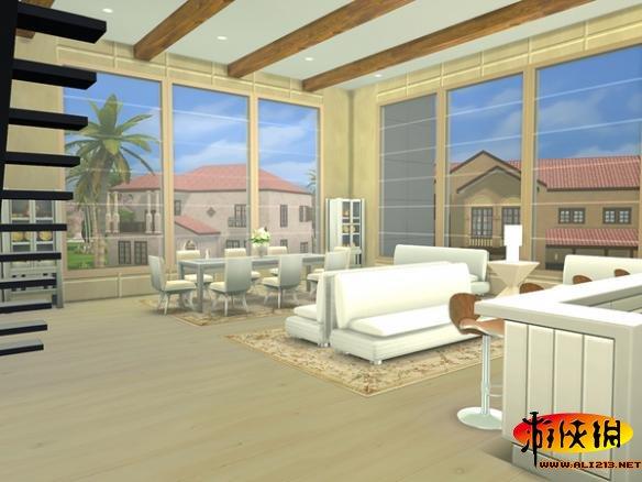 模拟人生4 现代时尚公寓mod